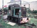 Podoba lokomotivy v Nymburce 28.4. 1992    foto autor Michal Ročňák